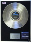THE SHADOWS - LP Platinum Disc - OUT OF THE SHADOWS